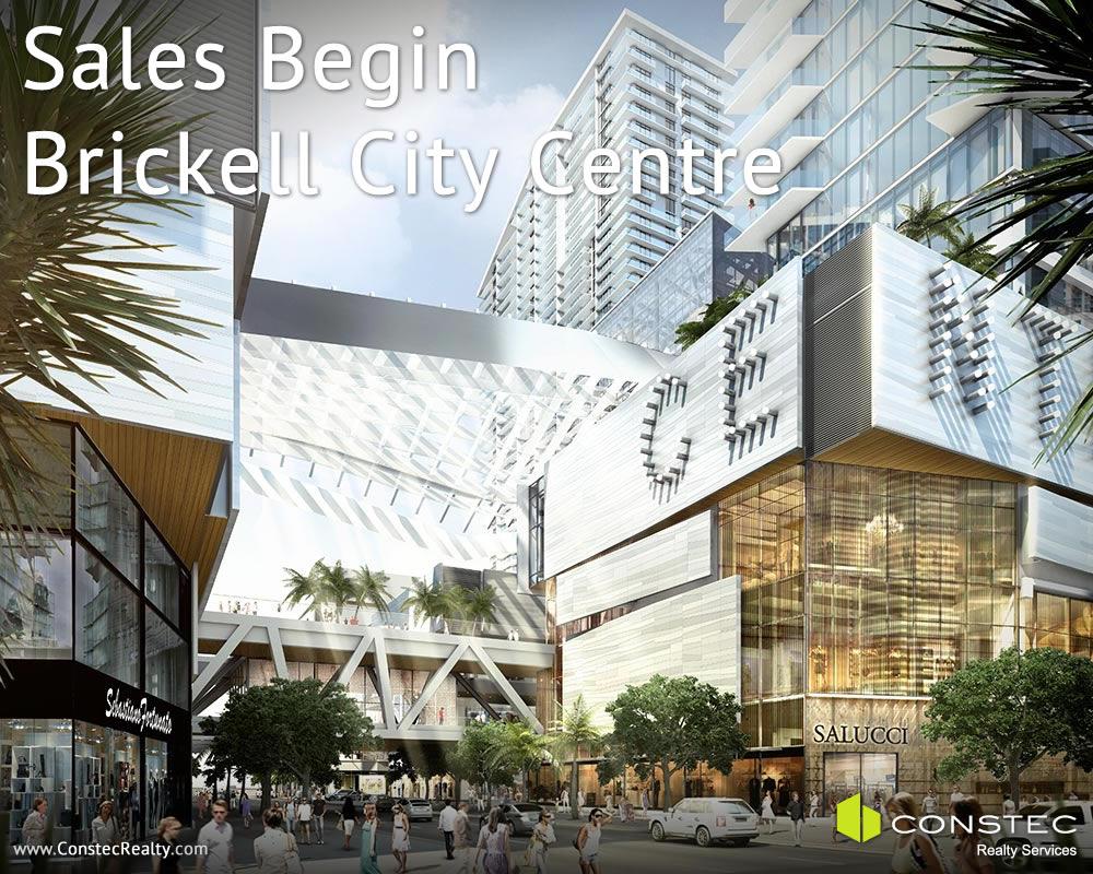 Sales Begin at Brickell City Centre
