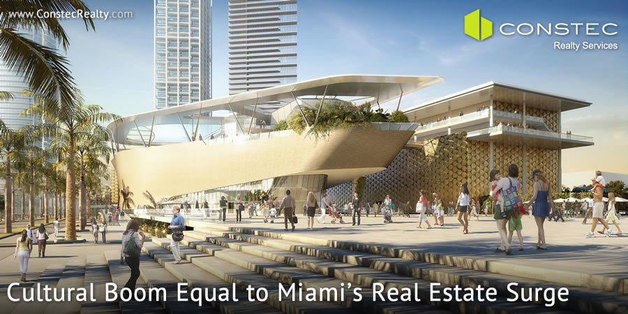 Miami real estate surge equaled by its cultural boom.
