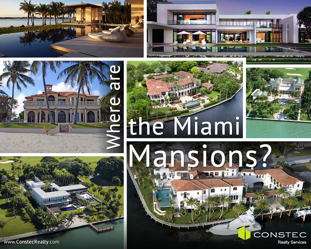 Where are the Miami mansions?