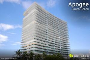 Apogee in South Beach, luxury condos in Miami