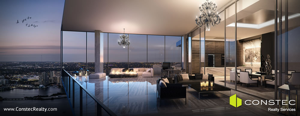 Muse Residences Sunny Isles - Indoor / Outdoor Living