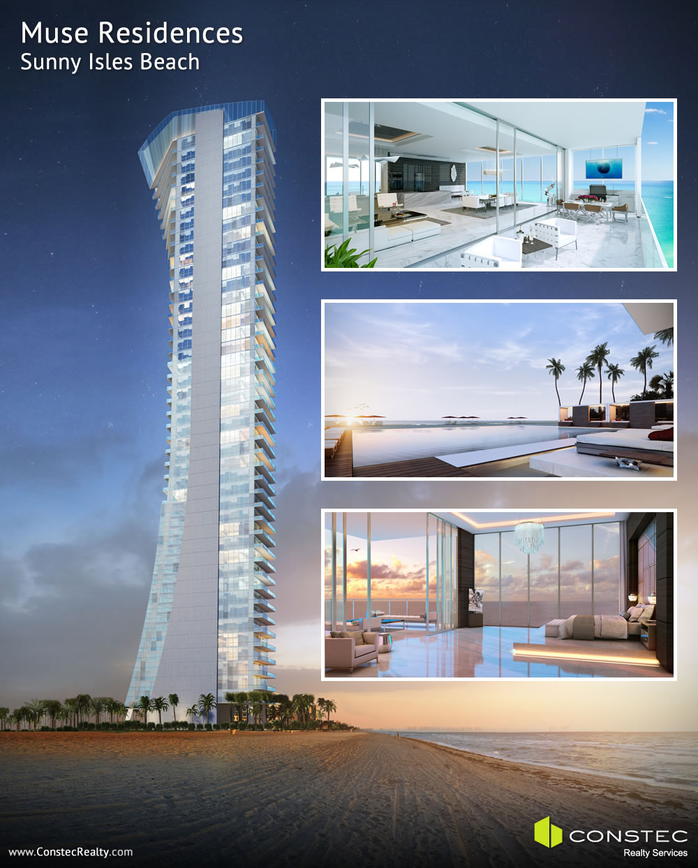 Muse Residences - luxury condos in Sunny Isles