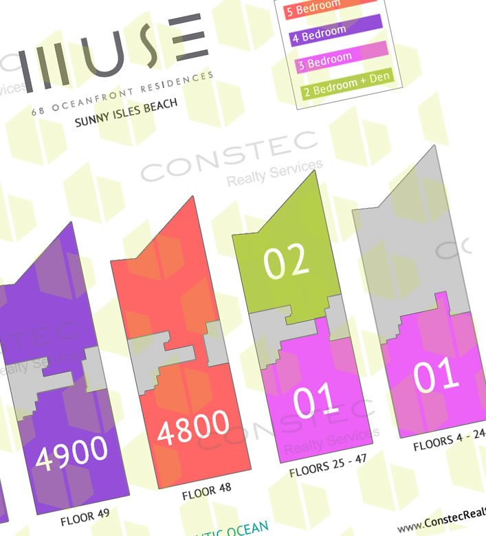 Site Plan for Muse Residences