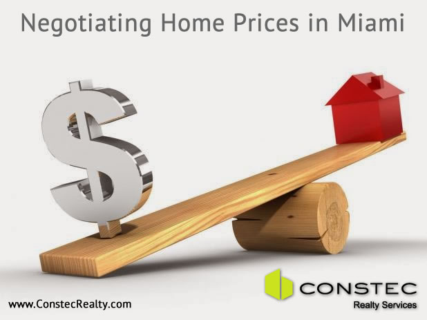 Negotiating Home Price in Miami