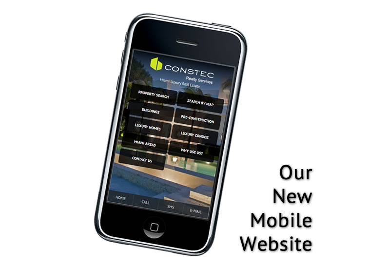 Constec Realty's New Mobile Real Estate Website