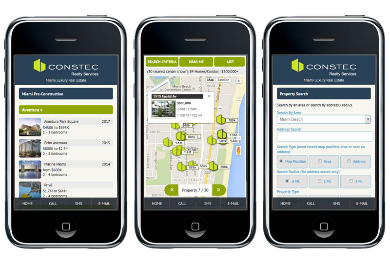 Try Out Our New Mobile Real Estate Website