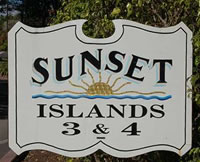 Sunset Islands Area
