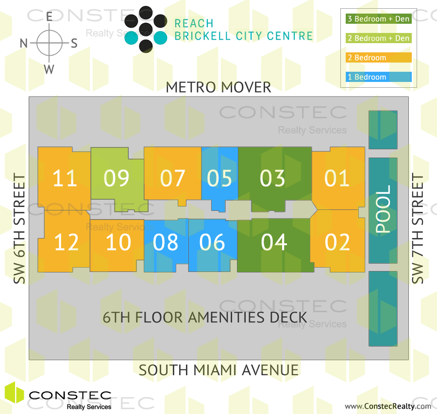Brickell City Centre Site/Key Plan