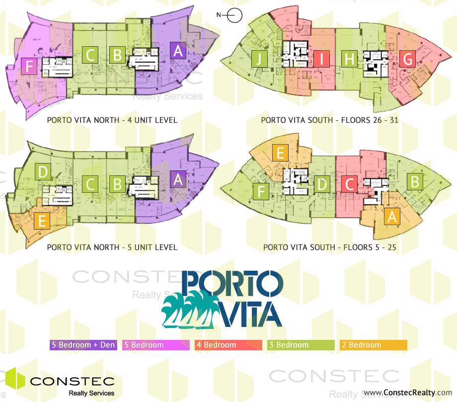 Porto Vita Site/Key Plan