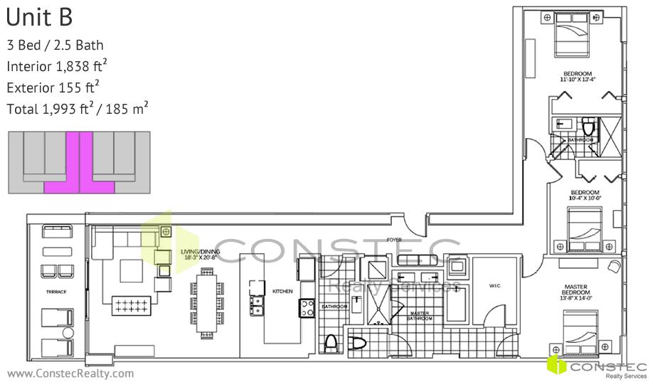 400 Sunny Isles Floor Plans