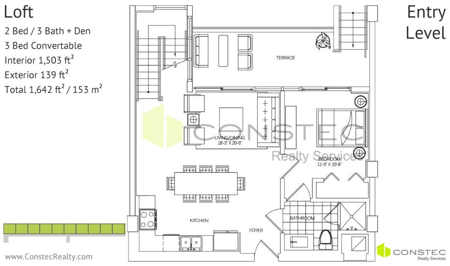 400 Sunny Isles Planos de Apartamentos