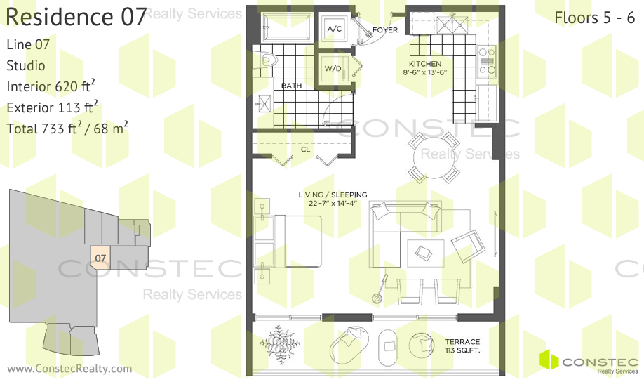 Baltus House Floor Plans
