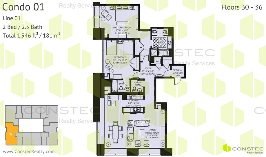 Four Seasons Millennium Tower Planos de Apartamentos – Four Seasons Housing Floor Plans