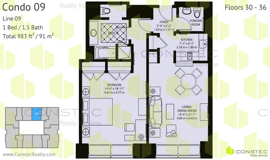 Condo De Calstle For 1bedroom 145 000