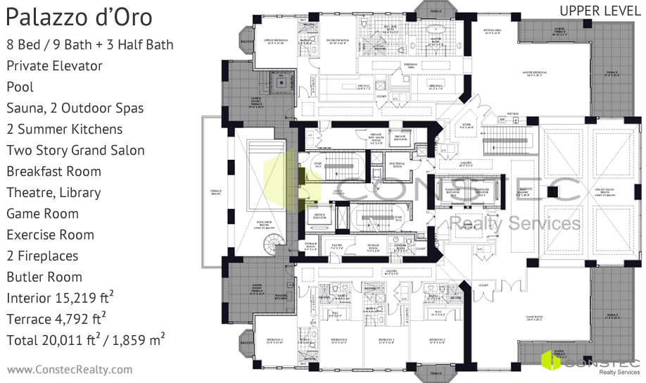 Floor Plans For Mansions