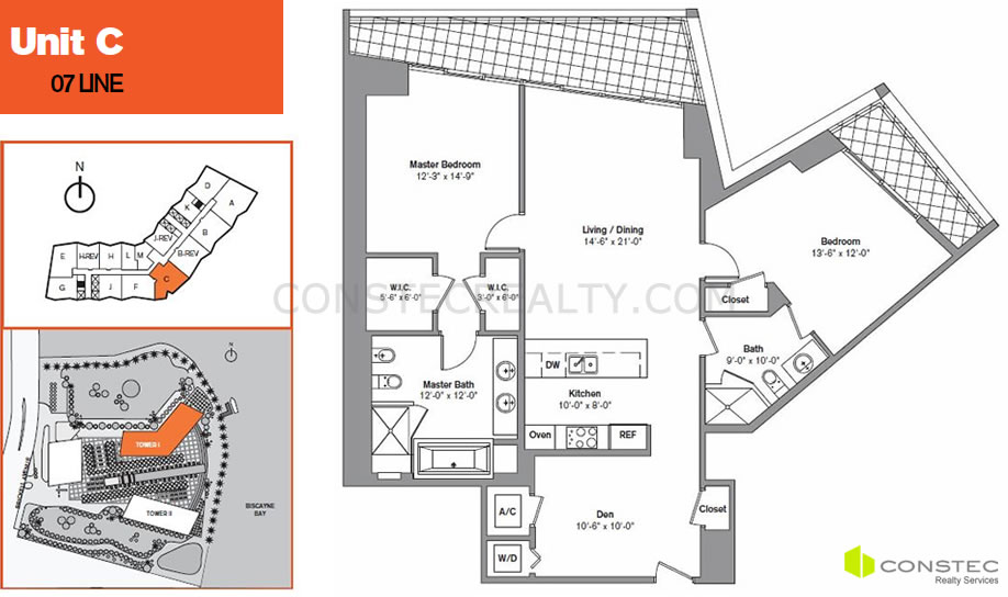 icon brickell floor plans