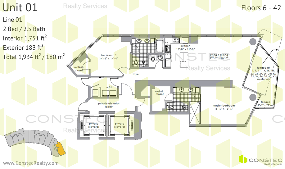 Paramount Bay Floor Plans