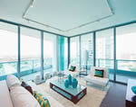 900 Biscayne Bay Tower Unit Living Room