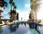 Brickell Heights - Pool Deck