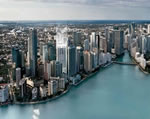 Brickellhouse - Aerial View Day