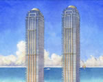 Estates at Acqualina - Building Rendering