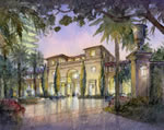 Estates at Acqualina - Entrance Rendering