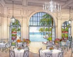 Estates at Acqualina - Restaurant Rendering