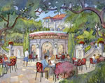 Estates at Acqualina - Beach Bar  and Grill Rendering