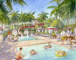 Estates at Acqualina - Pool Rendering