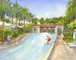 Estates at Acqualina - Flowrider Rendering