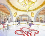 Estates at Acqualina - Ice Skating Rink Rendering