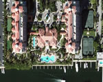Gables Club Towers - Aerial View