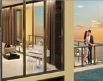 Mansions at Acqualina - Residence Balcony