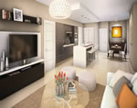 Midtown Doral - Living Area