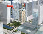 Mybrickell - Aerial  View