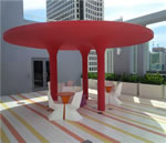 MyBrickell - Pool Deck Lounge