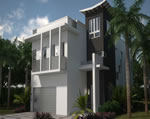 Oasis - Exterior Front Residence A2