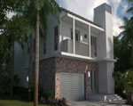 Oasis - Exterior Front Residence B