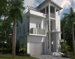 Oasis - Exterior Front Residence B2