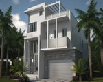 Oasis - Exterior Front Residence C2