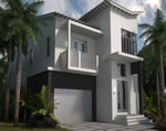 Oasis - Exterior Front Residence D