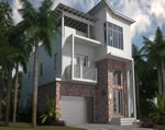 Oasis - Exterior Front Residence D2