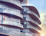 One Ocean - Rendering of Balconies