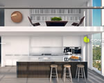 Edition Residences - Rendering of Kitchen