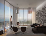 SLS Brickell - Living Area